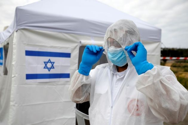 Israel reports 18 new COVID-19 cases, lowest daily rise since March 12