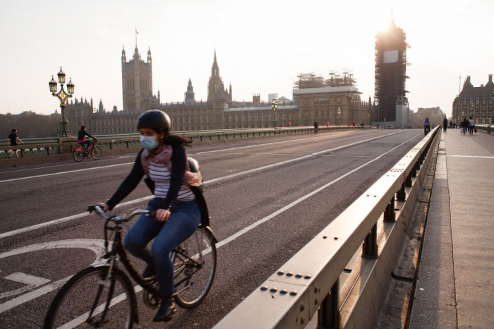 UK to boost cycling, walking as another 346 COVID-19 patients die