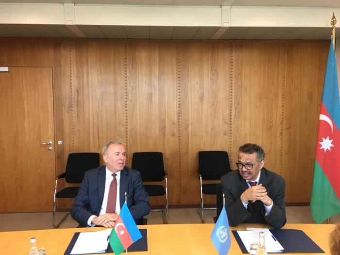 Azerbaijan and WHO sign donation agreement