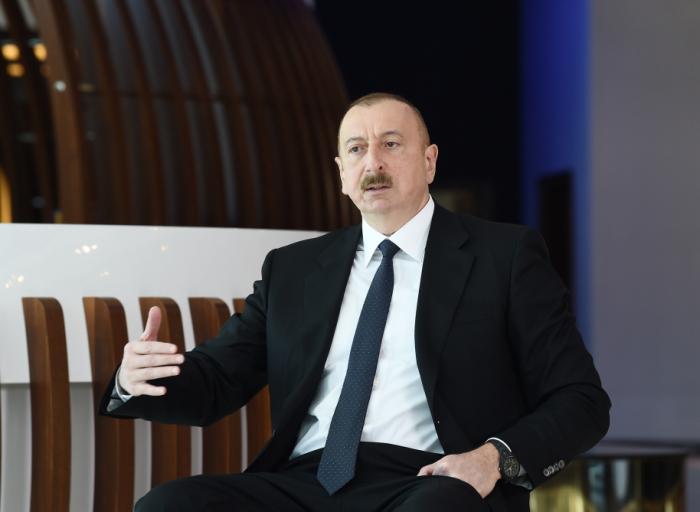 """""""Biz öz gücümüzə bu bəla ilə mübarizə aparırıq"""" - Prezident"""