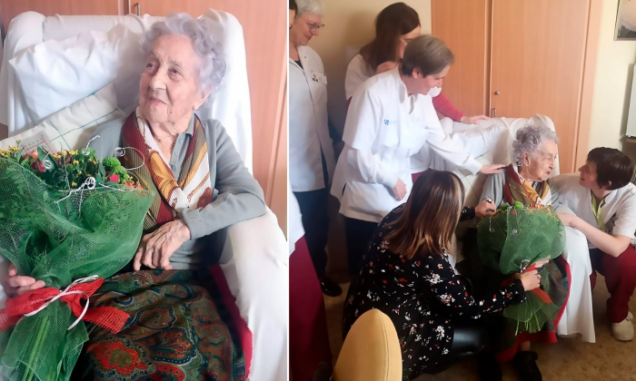 113-year-old Spanish woman likely world