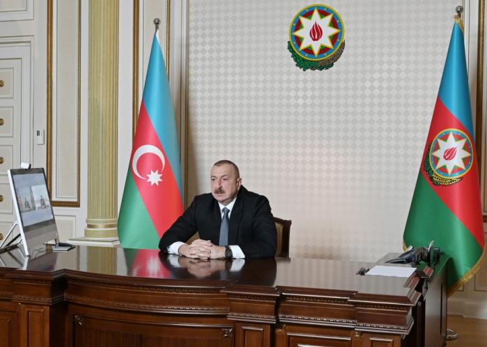 Prezident yeni icra başçısını videoformatda qəbul etdi - VİDEO (YENİLƏNİB)