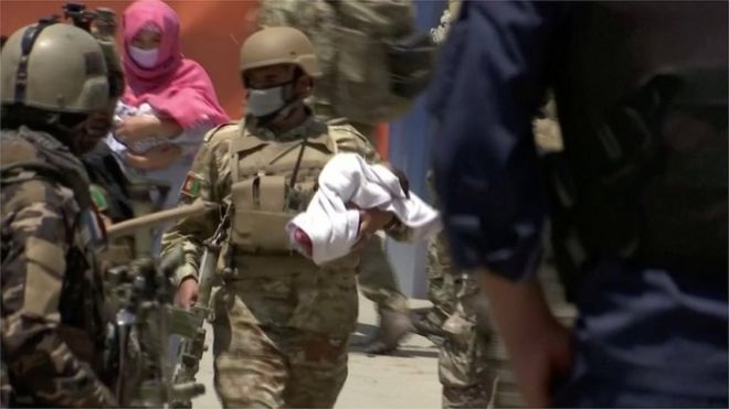 Afghan attack: Maternity ward death toll climbs to 24