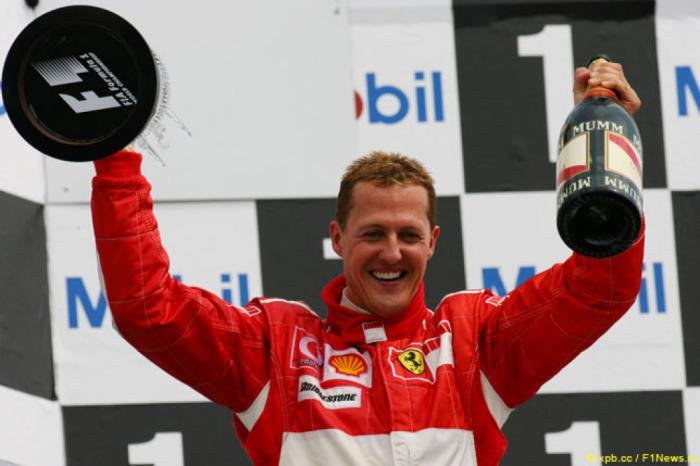 Şumaxer Formula 1 tarixinin ən nüfuzlu şəxsi seçildi