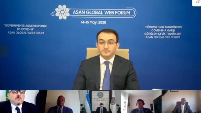 ASAN Qlobal Veb Forumun ilk günü 2 ardıcıl sessiya ilə davam edib - FOTOLAR
