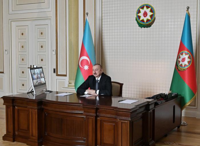 Prezident CISCO şirkətinin rəhbərləri ilə videokonfrans keçirdi - FOTOLAR (YENİLƏNİB)