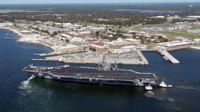 FBI: US naval base attack