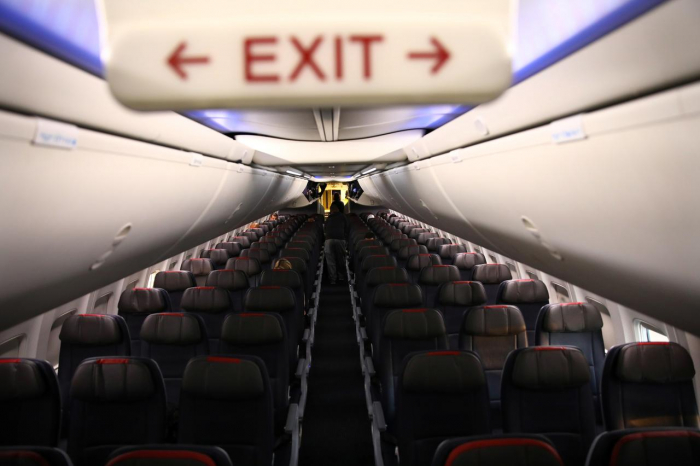 Empty middle seat? Depends on which country you are flying in