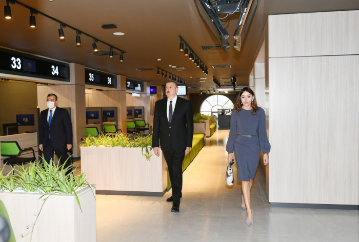 President Ilham Aliyev and first lady Mehriban Aliyeva attend opening of DOST center No3 - PHOTOS