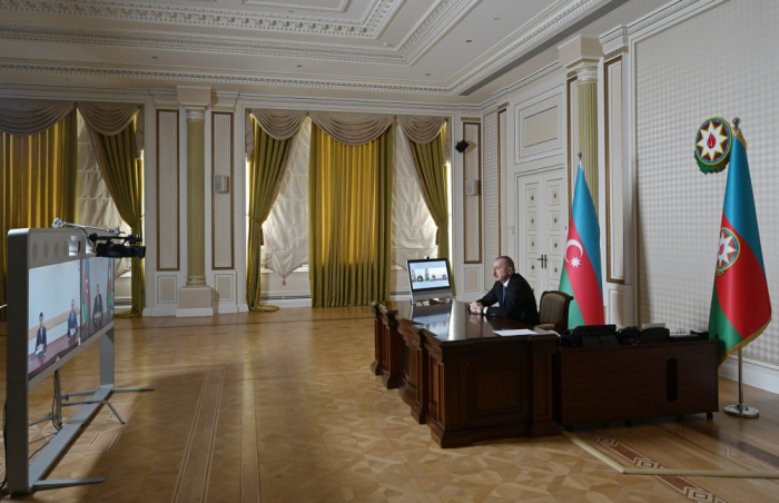 President Aliyev received new district executives of Aghstafa and Imishli