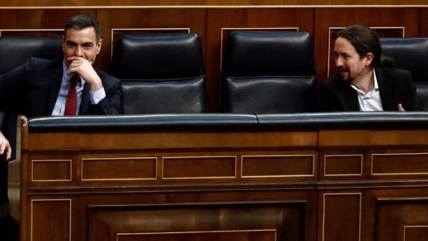 Nuevo pulso de Iglesias a Sánchez:   «Se va a derogar íntegramente la reforma laboral. Está firmado»
