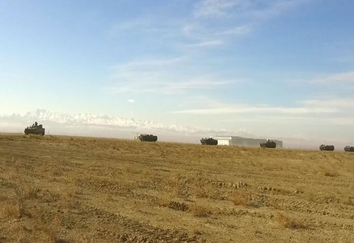 Während der operativen Übungen neu eingesetzte Truppen -   VIDEO