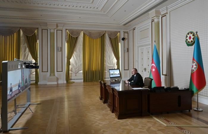 Ilham Aliyev recibe a los nuevos directores ejecutivos en formato de video        - VIDEO