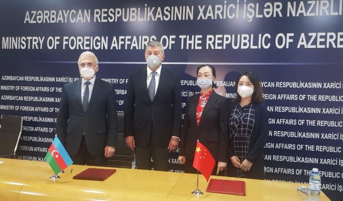 China envía nuevamente suministros médicos a Azerbaiyán