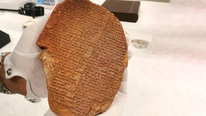 EEUU pretende devolver a Irak una pieza arqueológica comprada por más de 1,6 millones de dólares