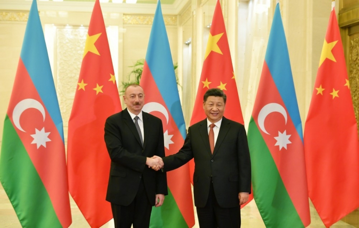 I attach special importance to the development of relations with Azerbaijan - Xi Jinping