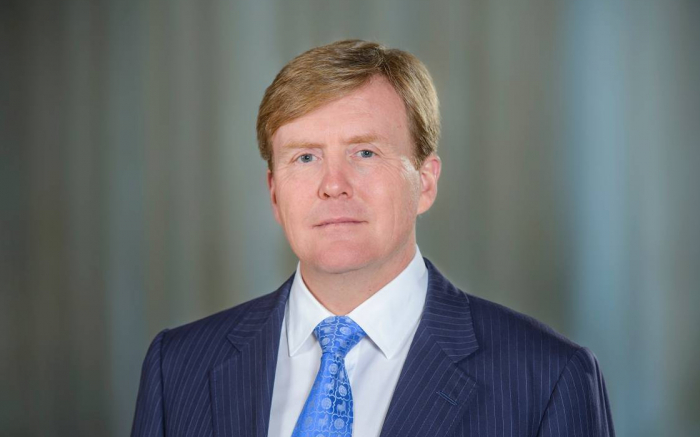 König von Niederlande sendet Brief an Präsidenten