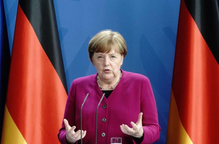 Merkel verteidigt Einschränkungen von Grundrechten in Corona-Krise
