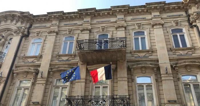 Die französische Botschaft gratulierte dem aserbaidschanischen Volk