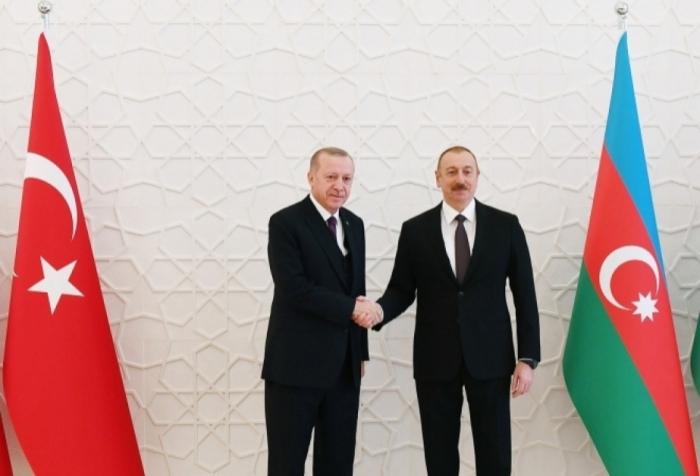 أردوغان يتصل مع إلهام علييف