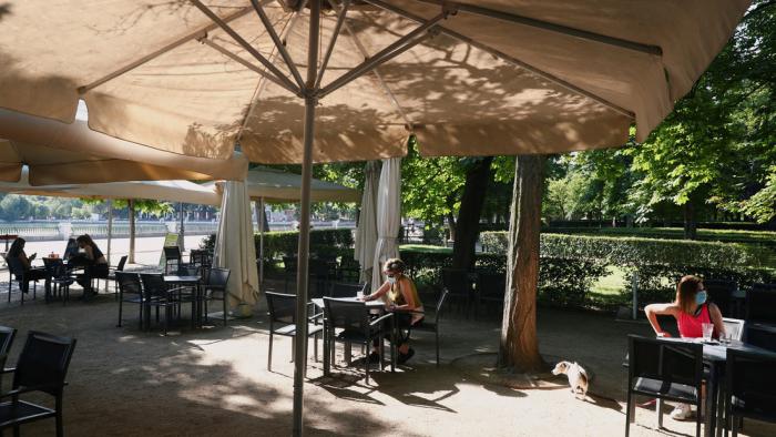 Madrid reabre las terrazas de bares y restaurantes tras dos meses y medio de confinamiento