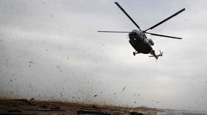 4 dead as Russian helicopter crashes at airport