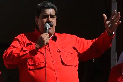"""El dictador Nicolás Maduro acusó de """"estafadores"""" a los países que donaron para atender a los migrantes venezolanos"""