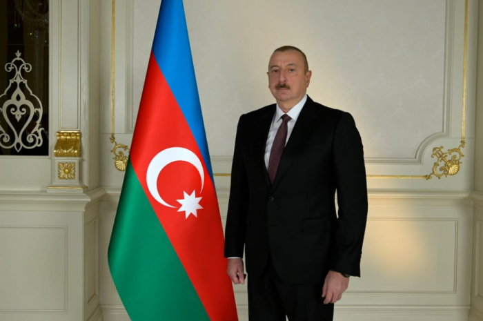 President Ilham Aliyev posts about Republic Day on Facebook