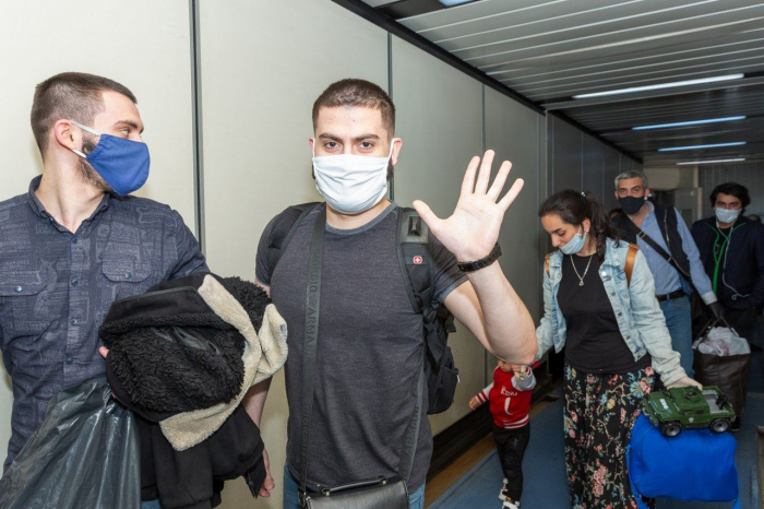 175 Azerbaijani citizens returned via charter flight from Moscow to Baku