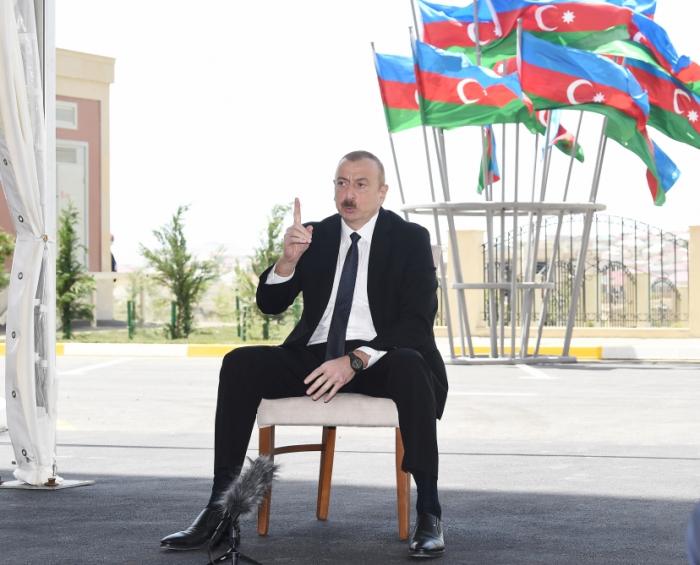 """Prezident:    """"Qarabağ probleminin həlli tarixi məsələdir"""""""