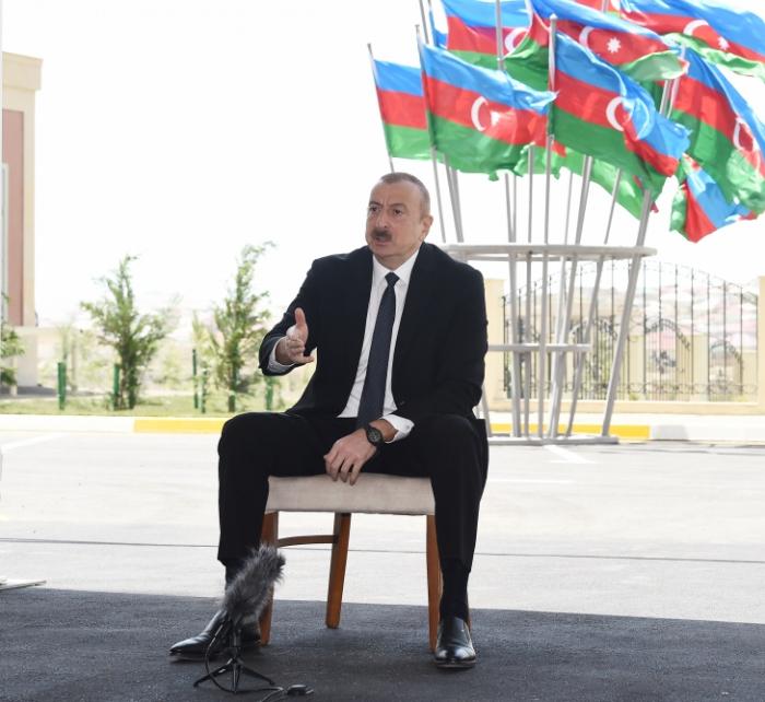 """""""Heydər Əliyev amili qoymurdu ki, ermənilər baş qaldırsınlar"""" -    Prezident"""