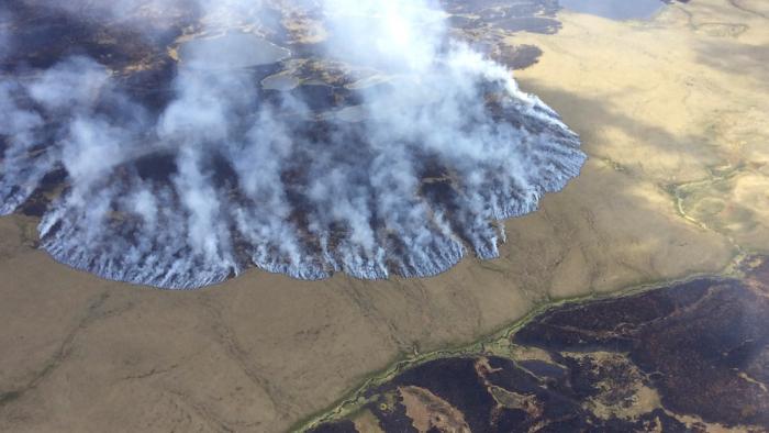 """Científicos alertan sobre """"incendios zombis"""" en el Ártico que pueden arder por meses bajo tierra"""