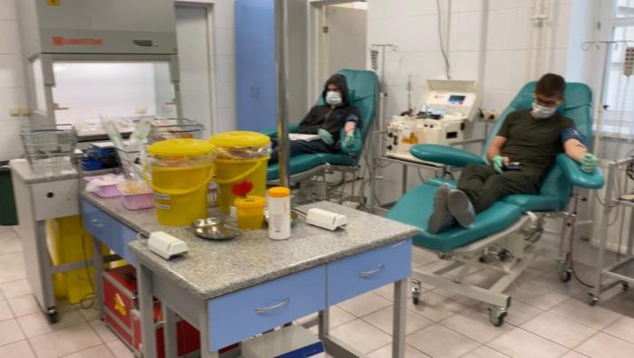 Heydar Aliyev-Stiftung hält Spendenaktion Blut in Moskau -   FOTOS