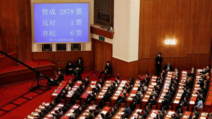 El Parlamento de Сhina aprueba la ley de seguridad para Hong Kong, pese a las amenazas de Trump