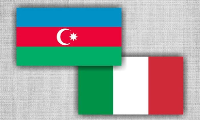Die italienische Regierung dankte Präsident und Mehriban Aliyeva