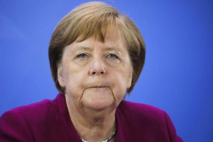 Angela Merkel says pandemic will be