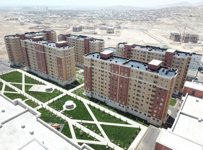 Neuer Wohnkomplex für Binnenvertriebene -  FOTOS