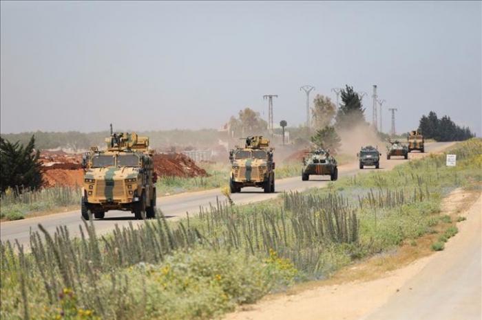 Turkey, Russia conduct 13th joint patrol in Idlib