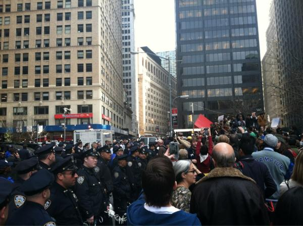 Hundreds in New York protest over George Floyd