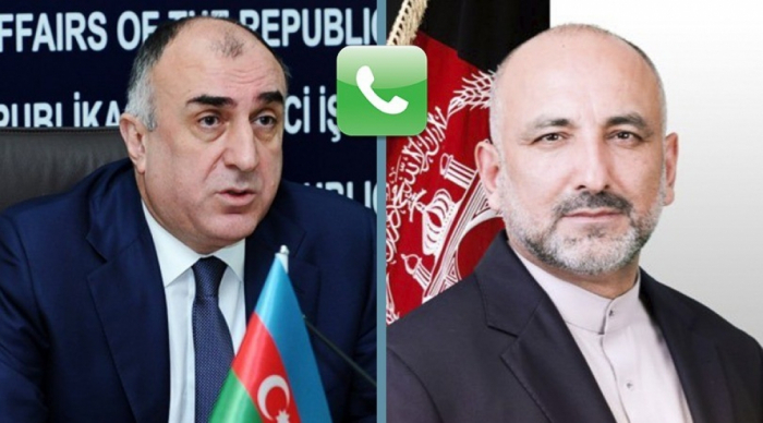 Azerbaijani, Afghan FMs hold phone talk