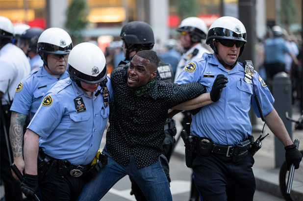 US police make nearly 1,400 arrests nationwide amid George Floyd protests