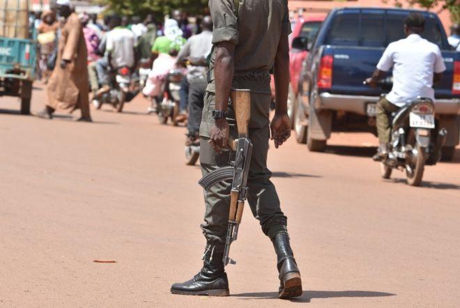 Burkina Faso gunmen