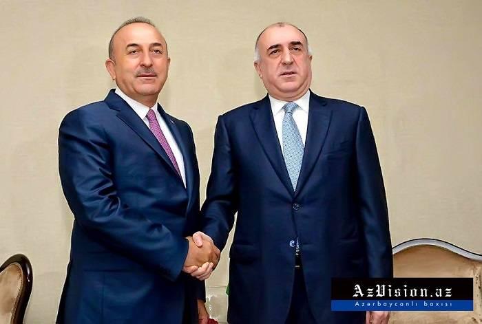 Məmmədyarov Çavuşoğlu ilə telefonla danışdı