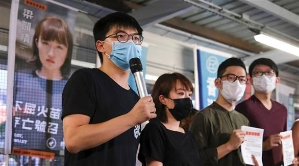 الناشط جوشوا وونغ يتعهد بتنظيم مظاهرات جديدة في هونغ كونغ