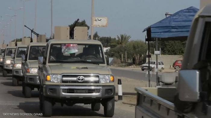 مرتزقة تركيا وميليشيات طرابلس تستهدف ترهونة بصواريخ غراد