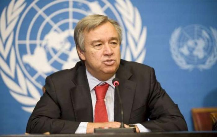 António Guterres felicita a Ilham Aliyev