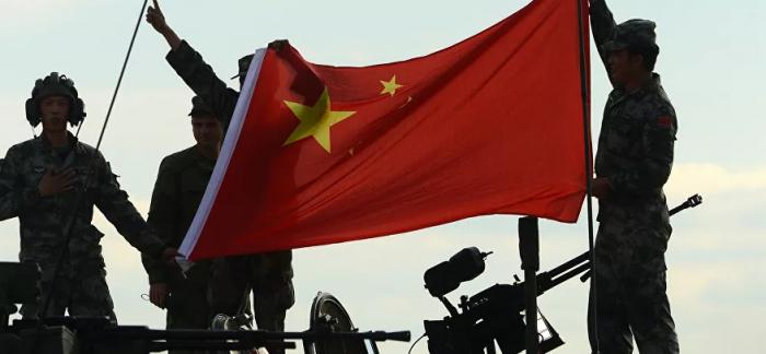 ظهور دبابة غريبة الشكل على الأراضي الصينية