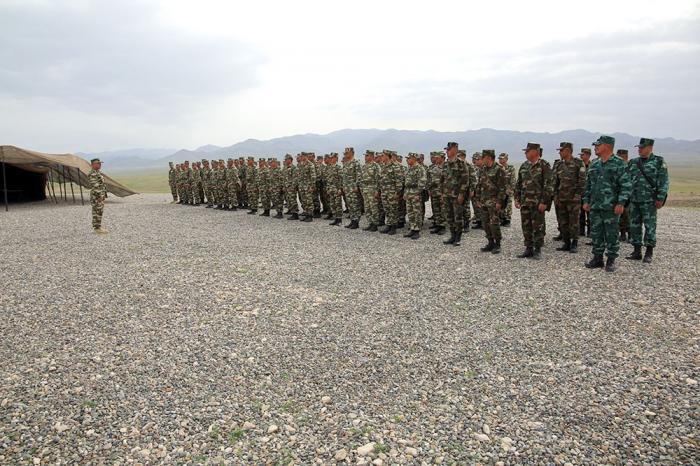 Naxçıvanda hərbi beşnövçülük üzrə yarışlar keçirilib - VİDEO
