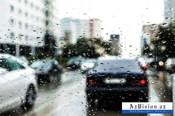 İntensiv yağış yağacaq, dolu düşəcək -    Xəbərdarlıq