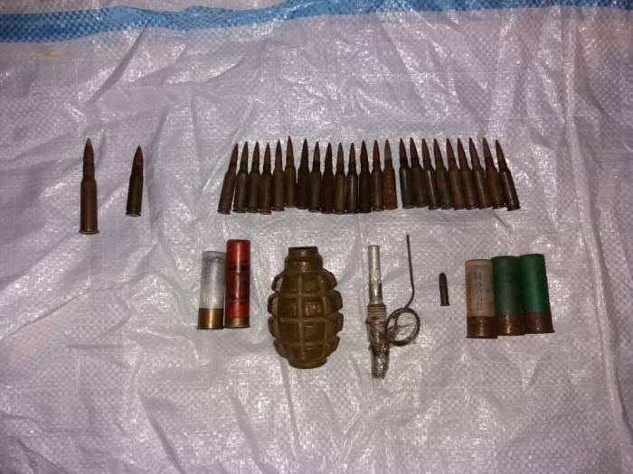 Nardaranda silah-sursat aşkarlandı
